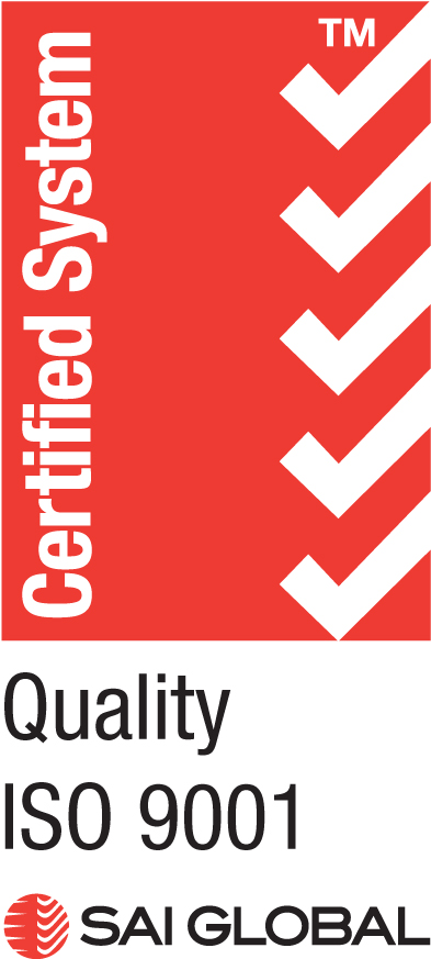 SAI Global Quality ISO 9001 Certified System