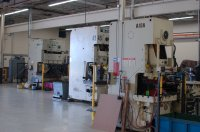 JTD has presses ranging from 90-ton to 400-ton stamping capacity.