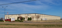 Our new facility that we moved into in 2012 with over 55,000 square feet of heated and cooled shop area sitting on 23 acres in the Jonesboro Industrial Park.