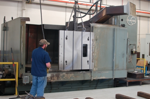 "With one of the largest Blanchard grinders in the mid-south, no grinding job is too large.  This Blanchard is capable of grinding 120"" corner-to-corner, 48"" tall, and 15,000#."
