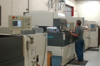 With four Mitsubishi wire EDM machines and lights-out running capabilities, die deliveries are drastically improved.